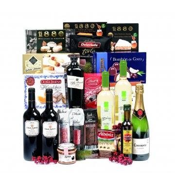 Lote 18 cestas de Navidad para empresas Bgrup