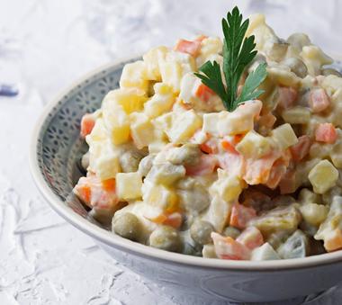 ensaladilla russa platos preparados refrigerados para hostelería BGrup