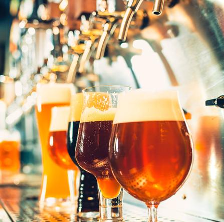copas de cervezas distribuidores de bebidas para bares BGrup