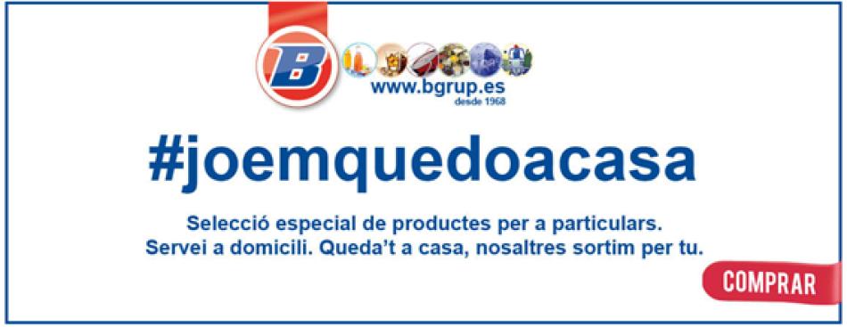 Campanya joemquedoacasa comprar menjar a domicili online BGRUP