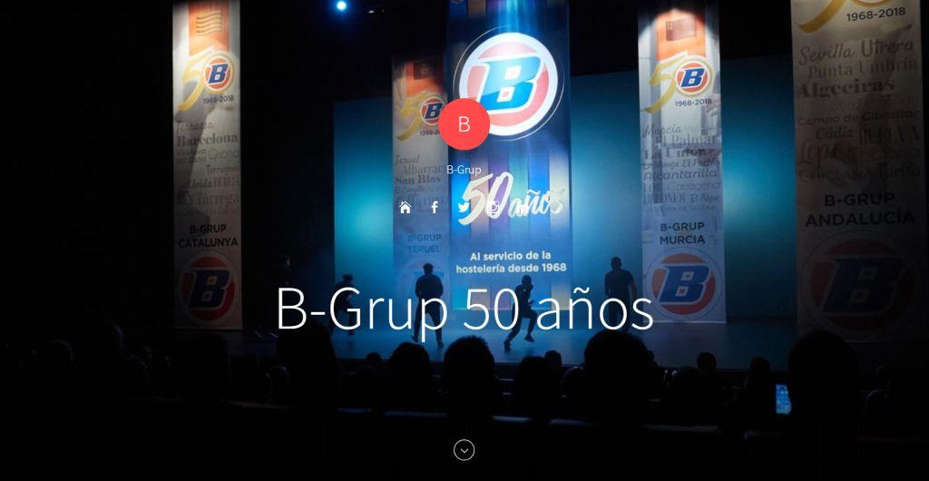 B-Grup 50 aniversario Lleida