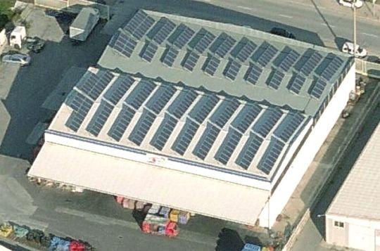 Instalación solar fotovoltaica en la plataforma de Manresa