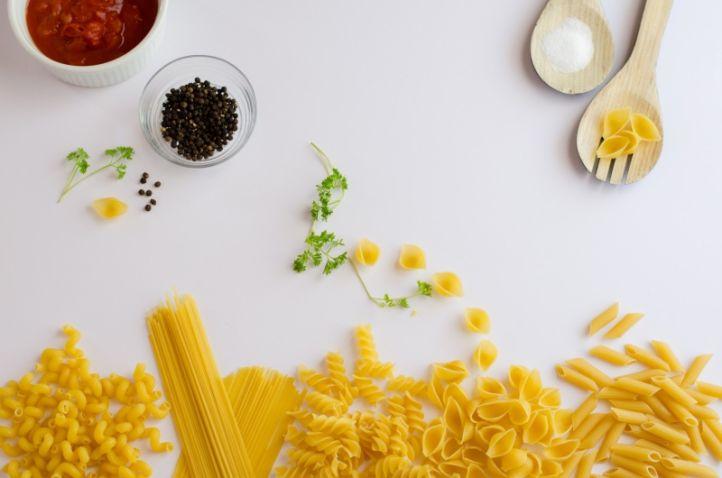 diferentes tipos de pasta