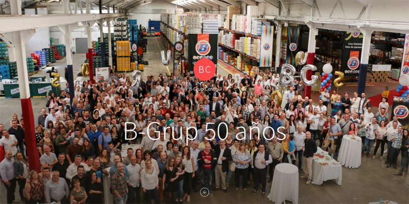 B-Grup 50 aniversario