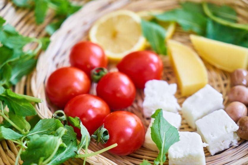 Alimentos que contiene la dieta mediterránea