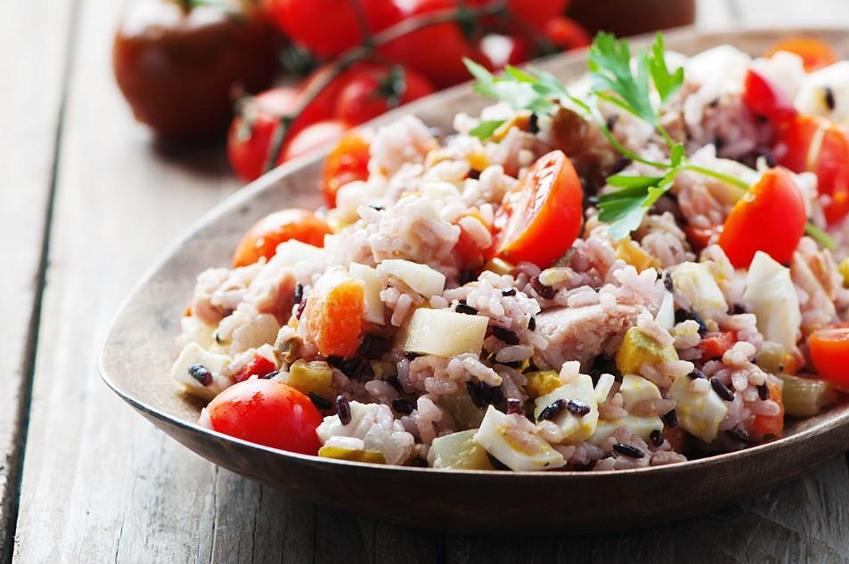 ensalada de arroz productos para hosteleria BGrup