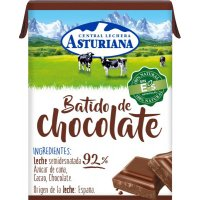 Asturiana Batido Chocolate Mini Brik P-6 - 10717