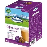 Café Con Leche Sin Lactosa Asturiana 16 Capsulas (4 U) - 10726