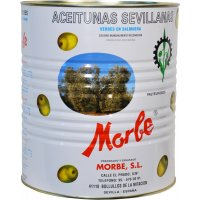Aceitunas Manzanilla Morbe 150-200 5kg - 11151