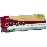 Atún Claro Cuca 1/8 Pack-3 - 12045