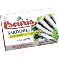 Sardinillas Aceite Oliva Escuris 8/10 90gr - 12094