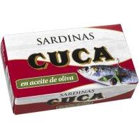 Sardinas En Oli Cuca 125gr - 12238