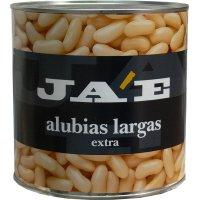 Alubia Larga Blanca Extra Ja'e Lata 3kg - 12287