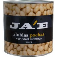Alubia Blanca Pocha Extra Ja'e Lata 3kg - 12289