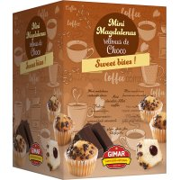Mini Magdalenas Chocolate Gimar Env Ind 1,5kg - 12618