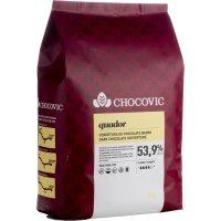 Cobertura Negra Equador Chocovic 5kg - 12664