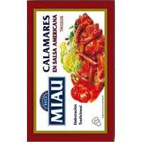 Calamares Salsa Americana Lata Ol120 Miau - 12790