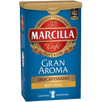 Cafe Marcilla Descaf Molido 1/4 Pack-4 - 13119