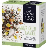 Sl Slow Tea Ginger Green Paradise Pickwick 25f - 13454