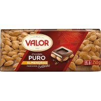 Chocolate Con Almendra Valor 250gr - 13543