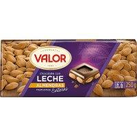 Chocolate C/leche Y Almendras Valor 250gr - 13547