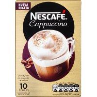 Nescafe Cappuccino Natural 10 Sobres - 13570