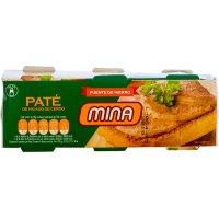 Foie-gras Mina 80 Gr Pack-3 - 15411