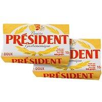 Mantequilla President Micro Pastilla 10gr 100u - 16533