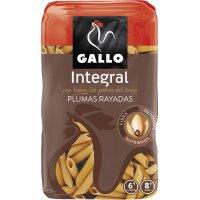 Macarrones Pluma Rayada Integral Gallo 500gr - 16646