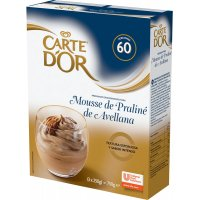 Mousse De Avellana Carte D'or 3x250gr - 17017