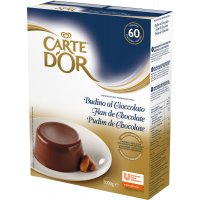 Flan Chocolate Carte D'or 1kg 2u+4flaneras - 17054