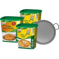 Caldo Knorr Pollo 2u+knorr Paella 1u+paellera - 17058