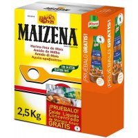 Maizena 2,5kg+sampling Caldo Amb Marisc 280ml - 17061