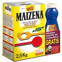 Maizena 2,5kg + Regal D'un Xarop Sabor Caramel 1kg (4 U) - 17066