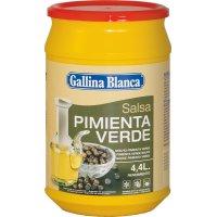 Salsa Pimienta Verde Gallina Blanca 1kg - 17158