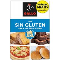 Harina-mix Sin Gluten Gallo 500gr - 17303