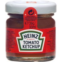 Ketchup Heinz Glass Tarrina 39gr - 17455