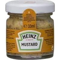 Mostassa Heinz Mustard Glass Tarrina 33ml - 17457