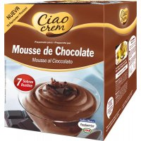 Mousse Chocolate Ciao Crem 7sob 114gr - 17692