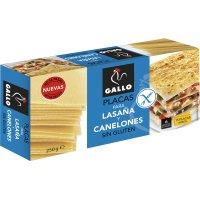 Placas Lasaña/canelones S/gluten Gallo 250gr - 17843