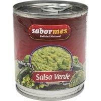Salsa Mexicana Verde Sabormex 215gr Lata (24 U) - 17868