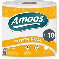 Rollo Papel Multiusos Amoos 2c 70m Sup Rollo - 19134