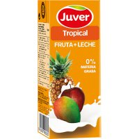 Juver Fruta+leche Tropical 200ml P-6 - 2003