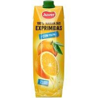 Juver 100% Taronjes Expremudes Amb Polpa Prisma 1lt - 2039