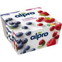 Alpro Nabius/fruits Vermells 125gr Pack-4 (1 U) - 20794