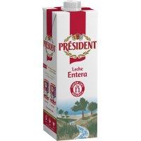Leche President Entera Uht Brik 1lt - 22627