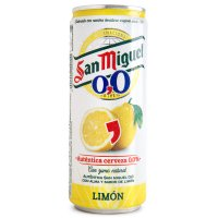 San Miguel 0,0 Limon Lata Sleek - 231