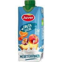 Juver Fruta+leche Mediterraneo 330ml - 2390