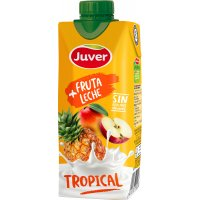 Juver Fruta+leche Tropical 330ml - 2391