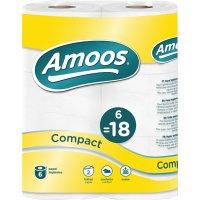 Papel Higienico Amoos 2c 50m P-6 - 2695